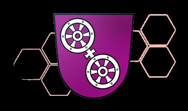 Logo Wappen Haarfreiheit Farben